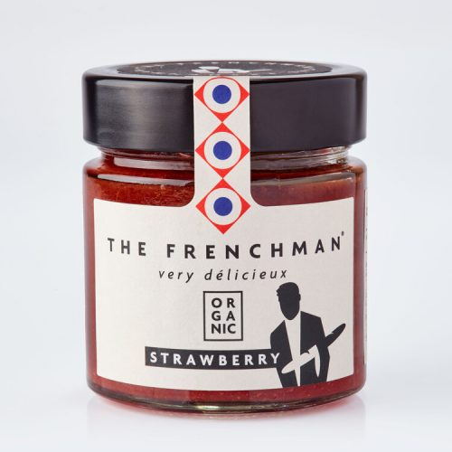 Organic Strawberry Fruit Spread - The Frenchman 13775 grey 500x500