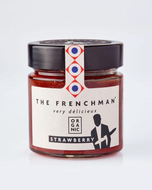 Organic Strawberry Fruit Spread - The Frenchman 13775 grey 500x625