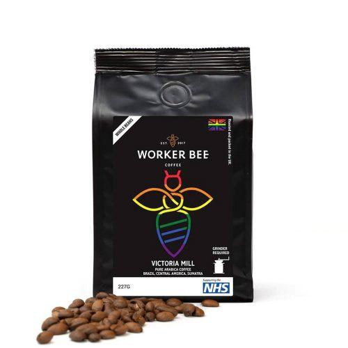 Victoria Mill Arabica Blend Espresso Beans Coffee (227g)