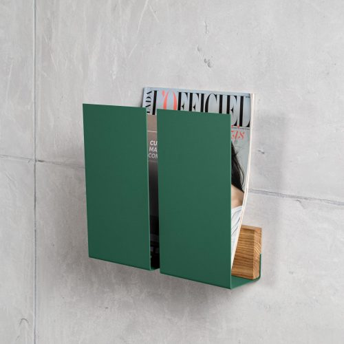 wall magazine holder