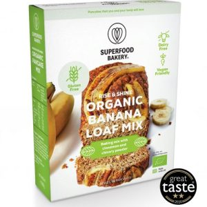 Organic Rise & Shine Banana Loaf Mix 250g – Pack of 6