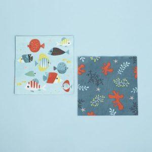 Under The Sea 20 napkins