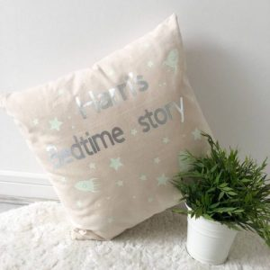 Child Glow In The Dark Bedtime Story Cushion