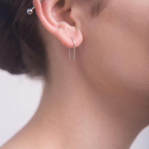 small arch ear pins