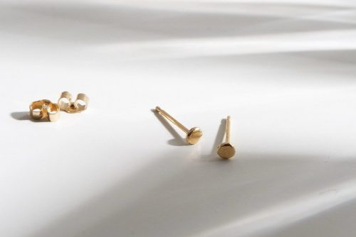9ct recycled gold mini studs - il fullxfull.2146514593 f4be 500x334