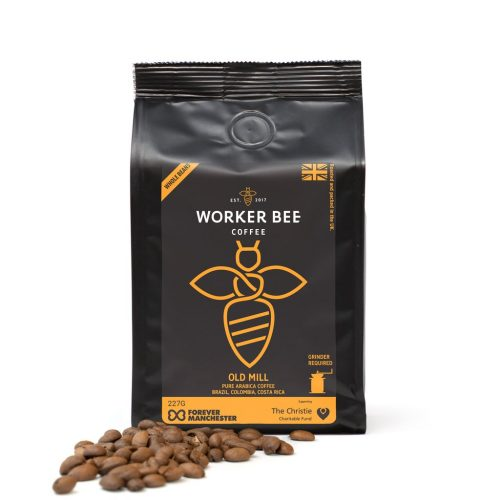 Old Mill Pure Arabica Espresso Beans Coffee (227g)
