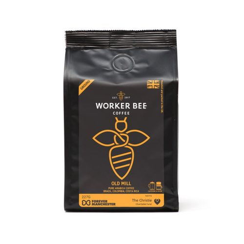 Old Mill Pure Arabica Ground for Cafetierre & Filter Coffee (227g)