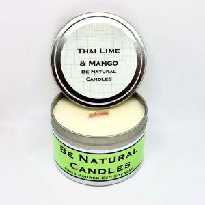 Tinned Soy Candle Thai Lime & Mango