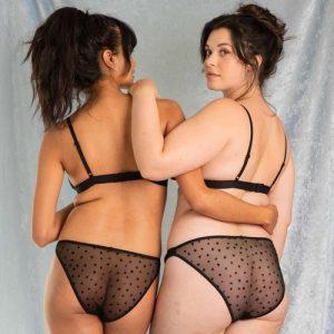 Amour Black Panties