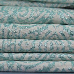 Dubai Turquoise 1 Tablecloth