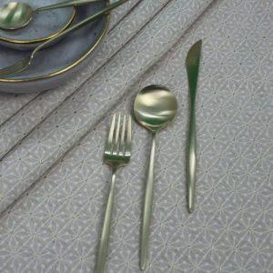 New York Beige 1 Tablecloth