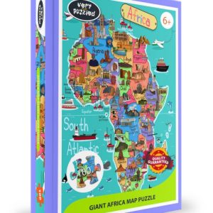 100 piece Africa Map Giant Jigsaw Puzzle
