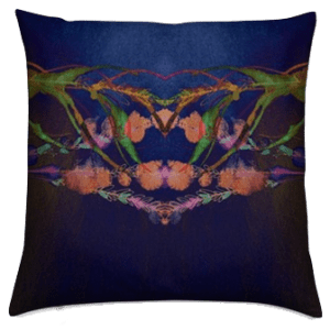 MOTHER NATURE'S CROWN LUXURY CUSHION COVER
