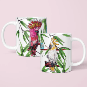 Party Cockatoos Mug - 10 10