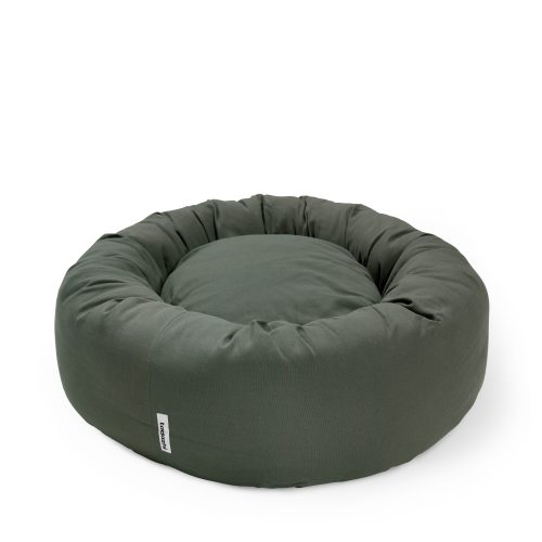 Donut bed pine green