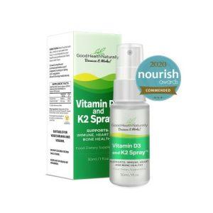 Vitamin D3 and K2 Sublingual Spray™