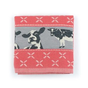 Kitchen Towel Cows Red - 4286 500x500