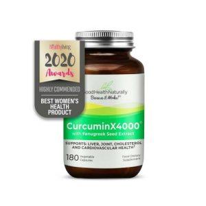 CurcuminX4000™ with Fenugreek Capsules
