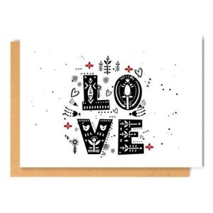 NORDIC LOVE greeting card - 59 500x500
