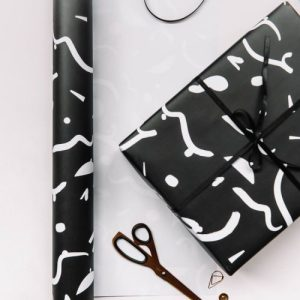 CURVES Wrapping Paper