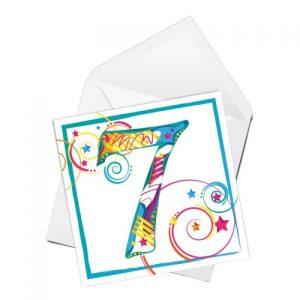 Age 7 Birthday card - BD011 copy 500x500
