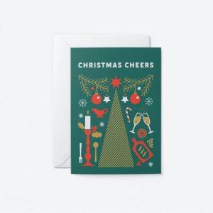 Christmas Cheers Greeting Card