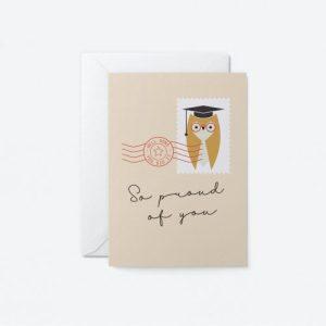 Graduation – Owl Greeting Card