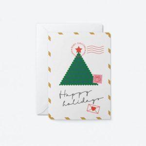 Christmas Greeting Card – Happy Holidays