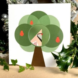 Christmas Card - Partridge Pear - PartridgePearCard 1024x1024@2x 500x500