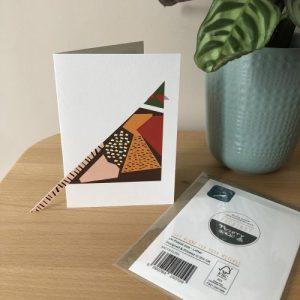 Pheasant Sticky-out' card - PheasantProductPhoto 1024x1024@2x 500x500