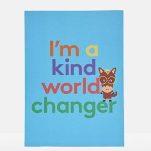 Kind World Changer Print A4