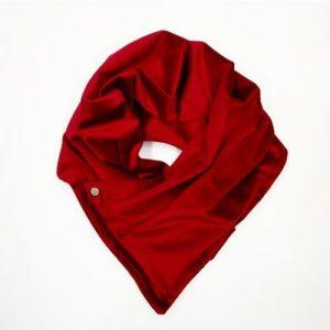 Velvet Pocket Scarf Opera Coat Red – Pack of 3