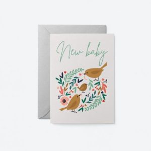 New Baby Bird Greeting Card - Soul 20 500x500