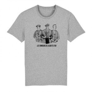 Tshirt Les Tombeurs de la Goutte d'Or - Grey - TSHIRT GRIS TOMBEURS GOUTTE DOR 720x 500x500