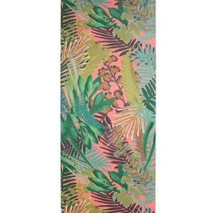 Willow Yoga Mat – Kew Tropics – Hot Pink