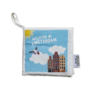 Soft Baby Book Amsterdam 100% Cotton And Fairly Made - Zacht Babyboekje Amsterdam fairly made 1
