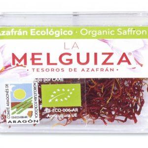 Organic Saffron from Teruel box 0.5 g - Pack of 20 - azafrán ecologico caja 1 500x500