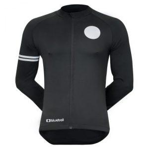 Black Long Sleeve Cycling Jacket