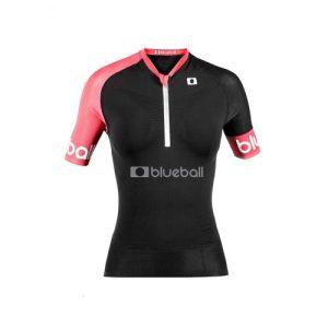 Running Black/Pink Lady Tshirt Short Sleeve