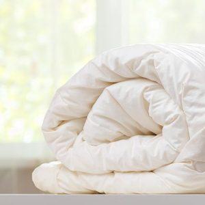 Double Medium Weight Merino Wool Organic Cotton Duvet Pack of 2
