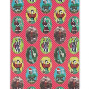 Christmas Divas Wrapping Paper Pack of 10