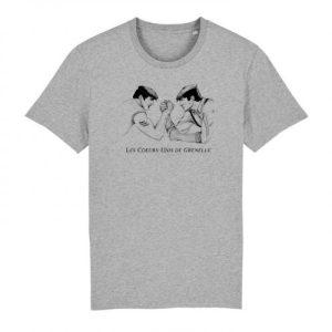 Tshirt Les Cœurs-Unis de Grenelle - Grey - image a71e74b4 5139 4705 a769 6aa23b8daa56 720x 500x500