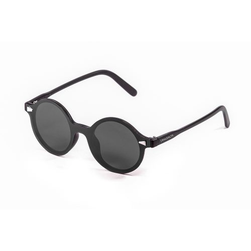 Portland matte black & smoke sunglasses