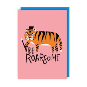 Roarsome Greeting Card pack of 6