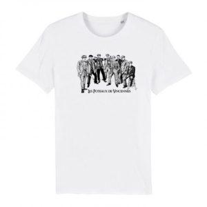 Tshirt Les Poteaux de Vincennes – White