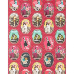 Birthday Divas Wrapping Paper Pack Of 10
