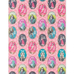 Darling Divas Wrapping Paper Pack of 10
