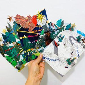 Christmas / Thanksgiving Cards - The Tri-Fold Collection Bundle - xmas card bundle 2020 500x500
