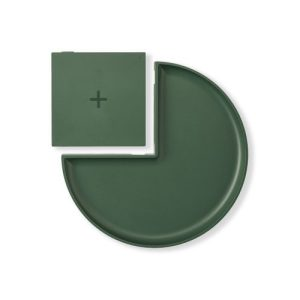 Wireless Charger with Tray - Forest Green - 1 10x10 GT2 G TOP 1000x1000 500x500