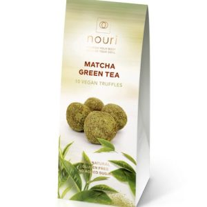 Vegan Matcha green tea (box of 10 truffles)